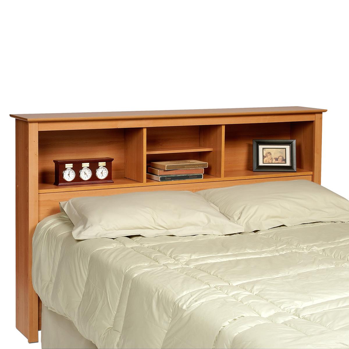 Prepac Bookcase Headboard Maple