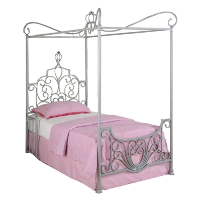 Princess Beatrix Platform Bed Purchase this bed in your castle, and let your little girl live out her fantasies as a princess.