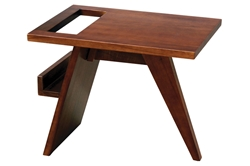 ReadMe Side Table read, me, side, table, readme, solid, mahogany, wood, modern, bedroom