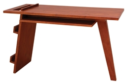 ReadMe Writing Desk read, me, writing, desk, readme, solid, mahogany, wood, modern, bedroom