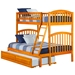 Richland Twin/Full Bunk Bed - Caramel Latte AB64207 - AB64207