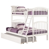 Richland Twin/Full Bunk Bed - White AB64202 - AB642X20