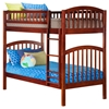 Richland Twin/Twin Bunk Bed - Antique Walnut AB64104 Richland Twin/Twin Bunk Bed - Antique Walnut AB64104