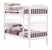 Richland Twin/Twin Bunk Bed - White AB64102 - AB64102