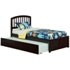 Richmond Platform Bed with Flat Panel Footboard - Espresso Richmond Platform Bed with Flat Panel Footboard - Espresso