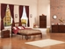 Richmond Platform Bed with Open Footrails - Antique Walnut - AR88X1004