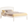 Richmond Platform Bed with Open Footrails - White - AR88X1002