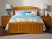 Richmond Traditional Bed with Matching Footrails - Caramel Latte - AR88X6037