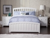 Richmond Traditional Bed with Matching Footrails - White - AR88X6032
