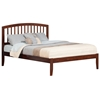 Richmond Traditional Bed with Open Footrails - Antique Walnut - AR88X1034