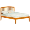 Richmond Traditional Bed with Open Footrails - Caramel Latte Richmond Traditional Bed with Open Footrails - Caramel Latte