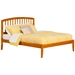 Richmond Traditional Bed with Open Footrails - Caramel Latte - AR88X1037