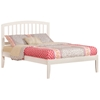 Richmond Traditional Bed with Open Footrails - White Richmond Traditional Bed with Open Footrails - White
