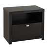 Series 9 1-Drawer Nightstand - Black BDNR-0510-1 Series 9 1-Drawer Nightstand - Black BDNR-0510-1