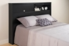 Series 9 Storage Platform Bed - Black - BHFX-0502-1 + BBD-5600-3KV