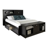 Series 9 Storage Platform Bed - Black Series 9 Storage Platform Bed - Black
