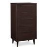 Sienna 5-Drawer Chest - Mocha G0093MO - G0093MO