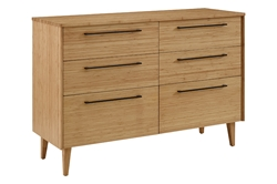 Sienna 6-Drawer Dresser - Caramelized G0094CA Sienna 6-Drawer Dresser - Caramelized G0094CA
