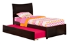 Soho Platform Bed Flat Panel Footboard