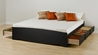 Storage Platform Bed - Black - BBT-4100-2K