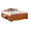 Storage Platform Bed - Cherry Storage Platform Bed - Cherry