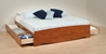 Storage Platform Bed - Cherry - CBT-4100-2KQ-6200-3K