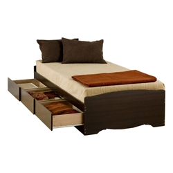 Storage Platform Bed - Espresso Storage Platform Bed - Espresso