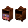 Tropical Seas 2-Drawer Nightstand - Chocolate RM01-TSD Tropical Seas 2-Drawer Nightstand - Chocolate RM01-TSD
