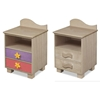 Tropical Seas 2-Drawer Nightstand - Grey RM01-TSG Tropical Seas 2-Drawer Nightstand - Grey RM01-TSG