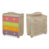 Tropical Seas 5-Drawer Chest - Grey RM15-TSG - RM15-TSG