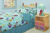 Tropical Seas Platform Bed - Grey RM39-TSG - RM39-TSG