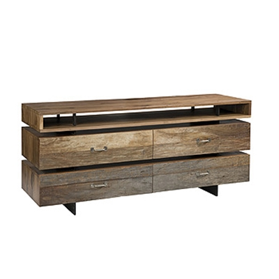 Webber Dresser Using exotic demolition hardwoods to make spectacularly modern furniture, the Webber Dresser brings new life into wood that has been beautified by natures elements.