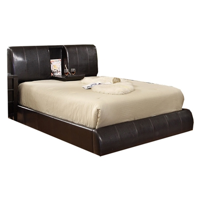 Webster Platform Bed - Espresso CM7027E Webster Platform Bed - Espresso CM7027E