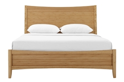 Willow Platform Bed ECO01 willow, platform, bed, greenington, modern, mid, century, bedroom, wood, solid, bamboo