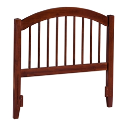 Windsor Headboard - Antique Walnut Windsor Headboard - Antique Walnut