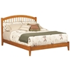 Windsor Platform Bed with Open Footrails - Caramel Latte Windsor Platform Bed with Open Footrails - Caramel Latte