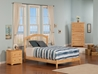 Windsor Platform Bed with Open Footrails - Natural - AP94X1005