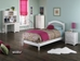 Windsor Platform Bed with Open Footrails - White - AP94X1002