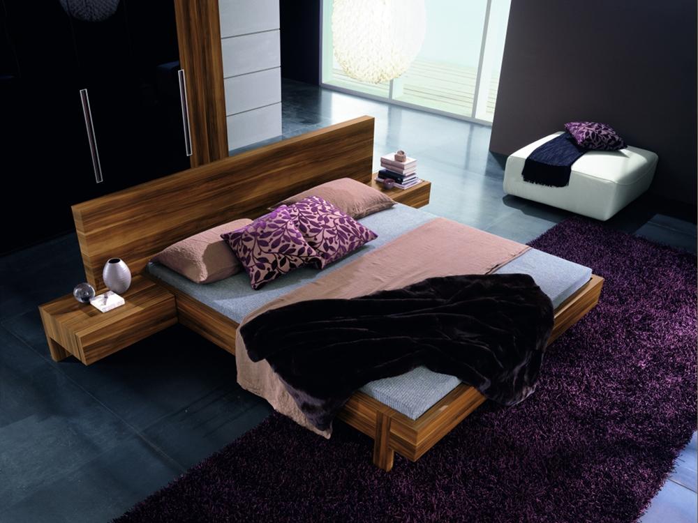 marin modern platform bed soft close drawers space saving