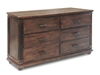 City 6-Drawer Dresser