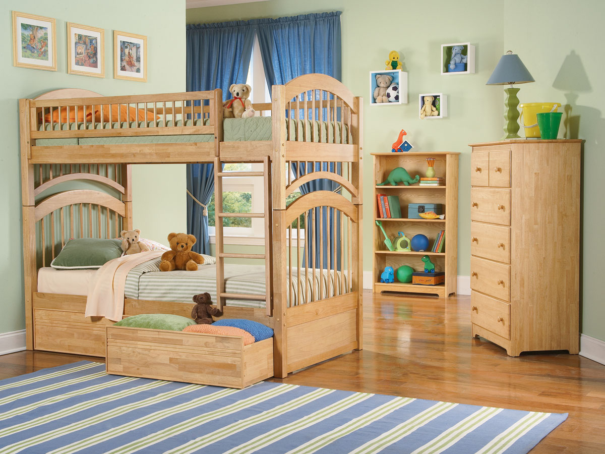 Windsor Girls Twin Twin Bunk Bed