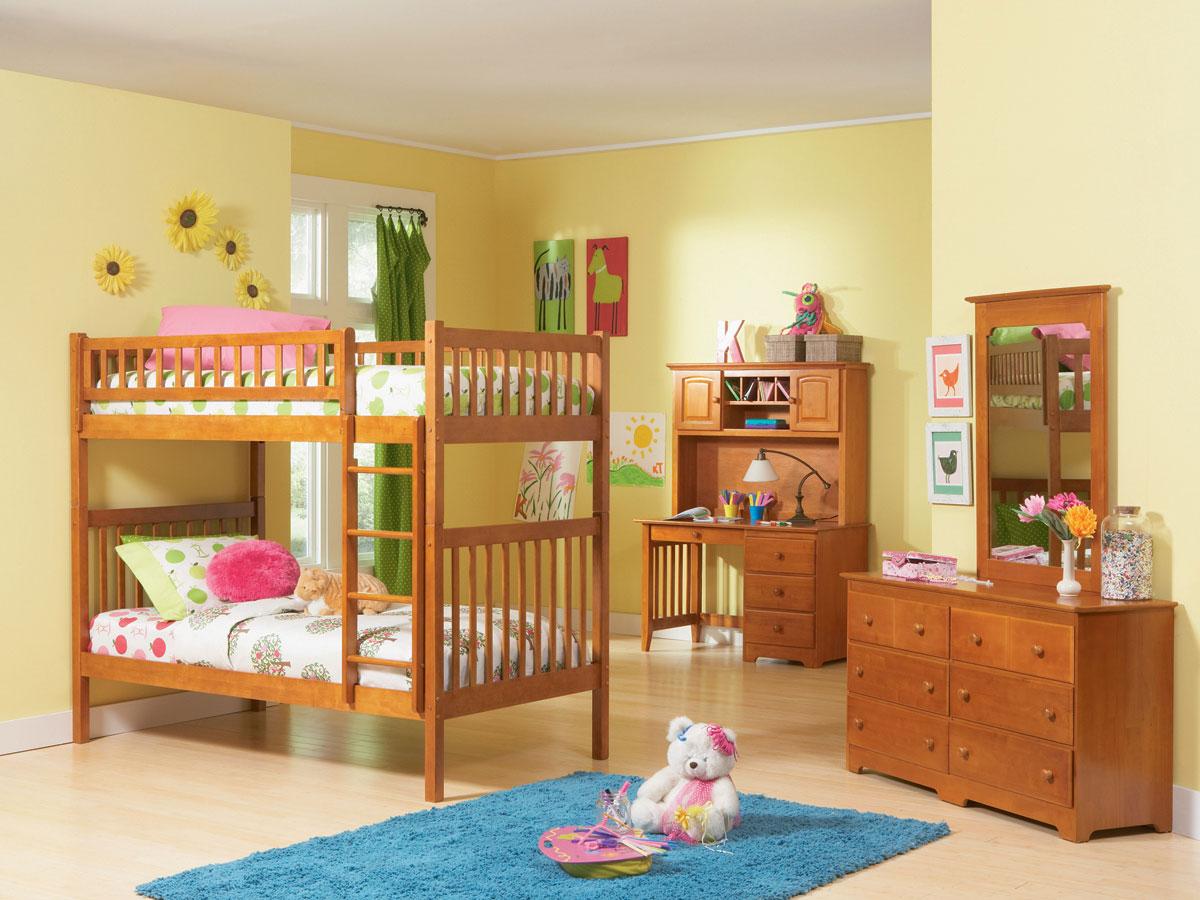 Arizona Girls Twin Twin Bunk Bed