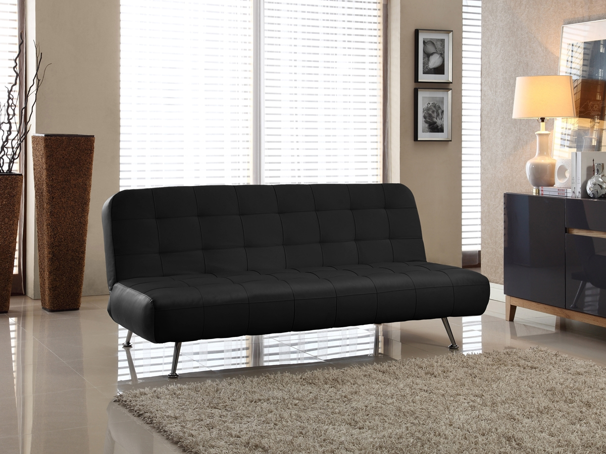 Tribeca Convertible Sofa Bed   CC TBE S3L15 BK ...