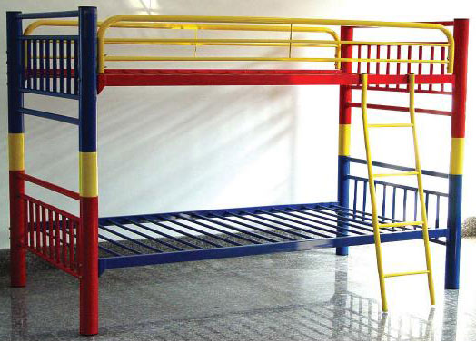 Primary Colors Convertible Bunk Bed