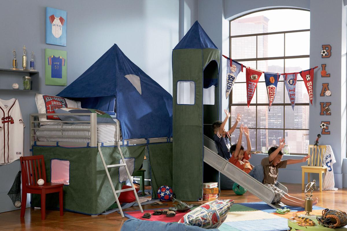 Camelot Boy S Tent Bunk Bed