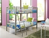 Gridiron Twin/Twin Bunk Bed - KBL-938-941-138-G