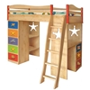 The Deputy Boys Loft Bed - KBL9502