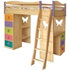 Mystic Garden Girls Loft Bed - KBL9504