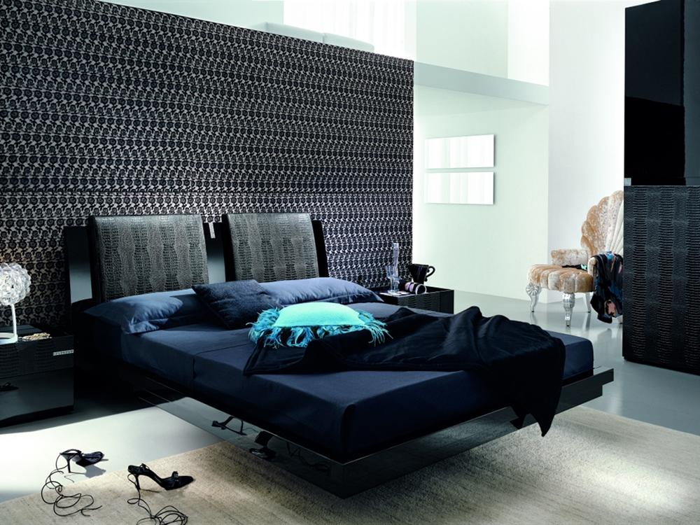 Ivory Luxe Modern Platform Bed