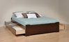 Augusta Deluxe Storage Platform Bed with Headboard - PBO15311
